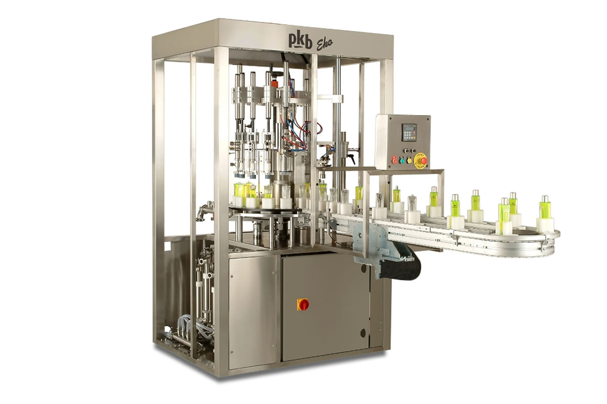 EKO – Filling/capping machine for perfumes
